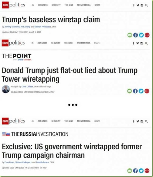 cnn trump lied about wire tapping