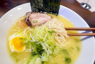 Marukin Ramen, the famous Marukin broth uses a unique, rich, creamy chicken based broth also known as paitan. Then for your Marukin ramen flavoyou must choose either shio (salt) or shoyu (soy sauce).