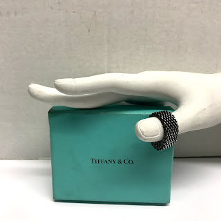 Tiffany & Co. Sterling Silver Somerset Ring