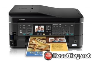 Epson WorkForce 630 Waste Ink Pads Counter Reset Key