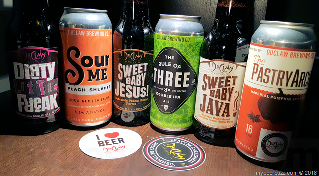 Mybeerbuzz .com Highlights Six DuClaw Brewing Beers