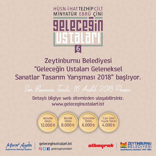 kontes seni kaligrafi zeytinburnu 2018