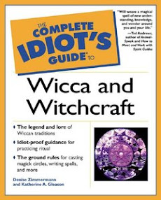 Cover of Denise Zimmermann's Book Complete Idiots Guide To Wicca And Witchcraft