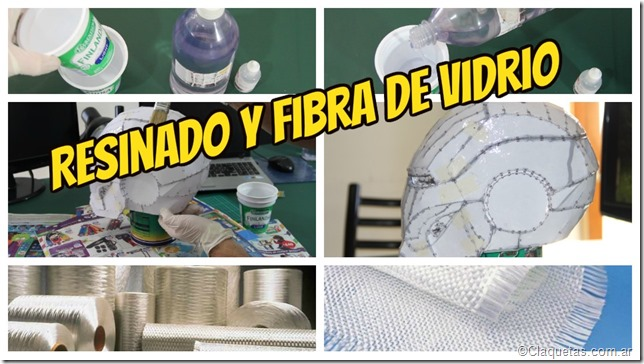 Resinado y fibra de vidrio - Tutorial Iron Man - Portada