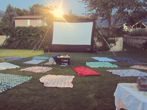 Vintage movie party