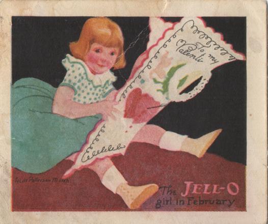 Jell-O Girl in February