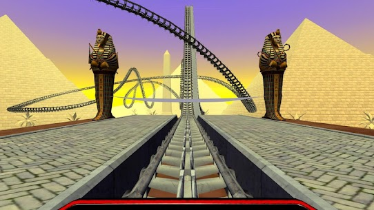 Egyptian Pyramids Virtual Reality Roller Coaster 2