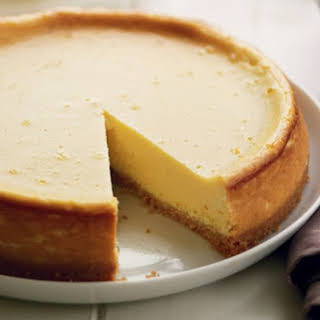 Lemon And Mascarpone Cheesecake.
