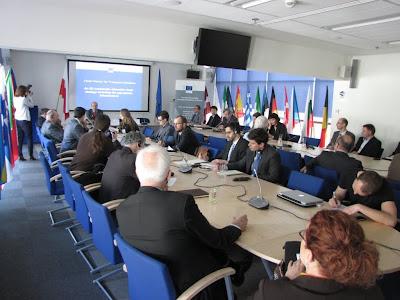 """Spotkanie w biurze Komisji Europejskiej ws. komunikatu """"Czysta energia dla transportu"""""""