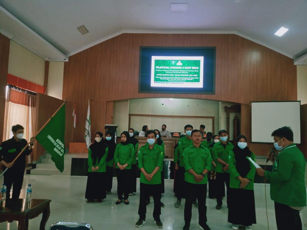 Sebanyak 21 Pengurus HPPMI Maros Komisariat UIN Alauddin Makassar Dilantik, Ridha : Ini Awal Dari Perjuangan