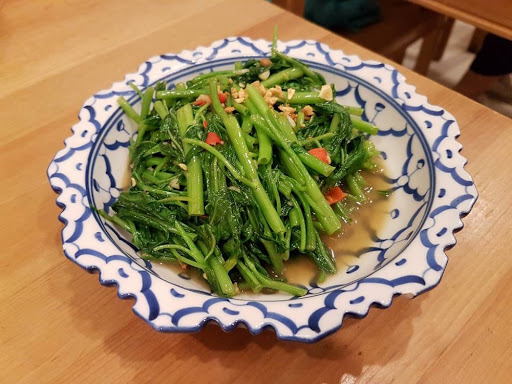 Kangkong belachan from Nakhon Kitchen Holland Village