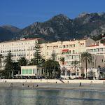 Plage et le front de mer : Hôtel Royal Westminster, Le Balmoral French Riviera
