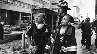 NY Fireman at Ground Zero, September 11, 2001