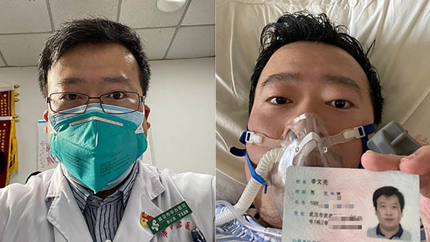 Dokter China yang Dibungkam karena Virus Corona Kini Terkapar di RS