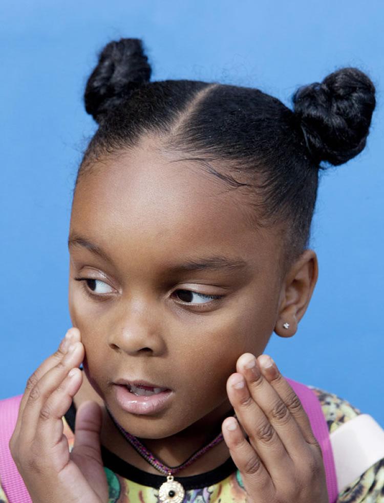 Trendy hairstyles for black little girls 2018-2019 16