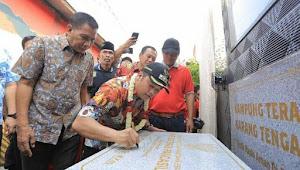 Kampung Teras Pancasila Karang Tengah,Menjadi Ikon Baru Kampung Tematik Kota Tangerang