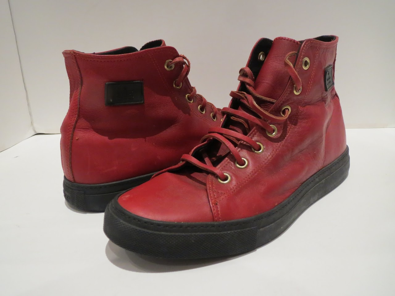 Gucci Fire Engine Red High-tops