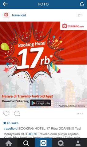 Travelio : Booking Hotel yang Boleh Nawar