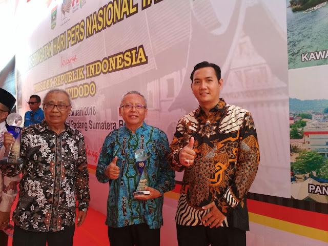 Hari Pers Nasional (HPN) 2018, Majalah Risalah NU Mendapat Penghargaan dari Presiden Jokowi