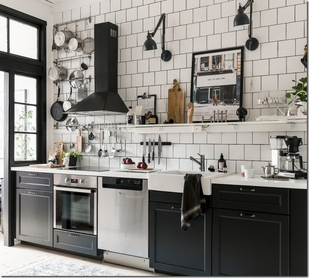 10 cucine in stile industriale case e interni for Arredamento industriale ikea