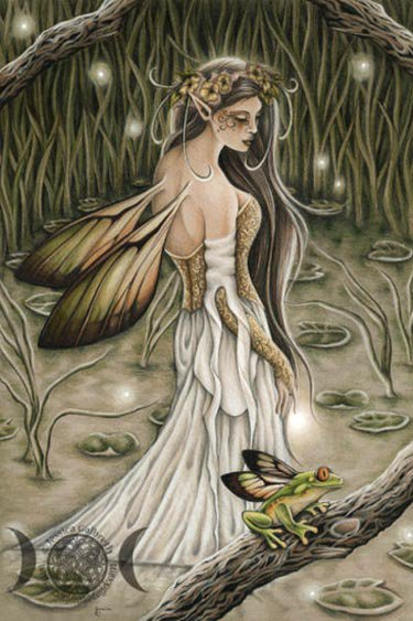 Wiccan Wings, Green Witches