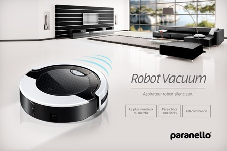 promo un robot aspirateur pour 99 euros. Black Bedroom Furniture Sets. Home Design Ideas