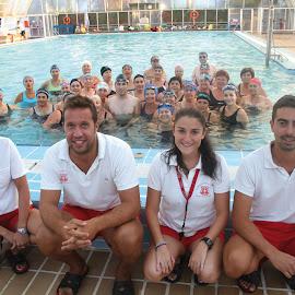 Clausura curso de natación