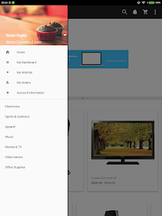 CS-Cart Mobile App Builder- screenshot thumbnail