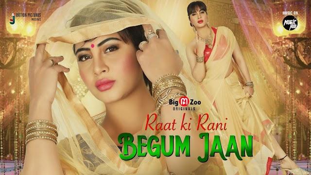 BiggBoss14's Arshi Khan excited for Anirudh Kumar's Raat Ki Rani Begum Jaan