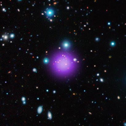 aglomerado de galáxias CL J1001