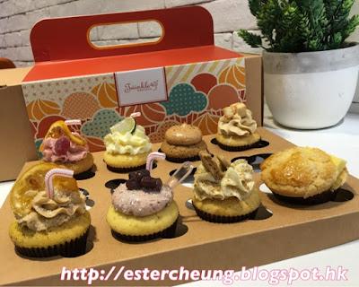 創意滿分 ♥ 港式茶餐廳風味 cupcakes 【扮清糕】 : Ester's Blog