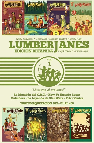 Lumberjanes Tomo 01 (#01 al #08) por Floyd Wayne y Arsenio Lupín