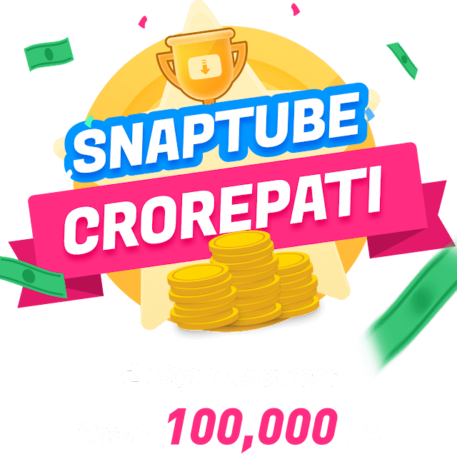 (Loot) SnapTube App - Signup & Get Rs.10 Paytm Cash Per Refer (Play Crorepati Quiz & Win Unlimited Paytm Cash)