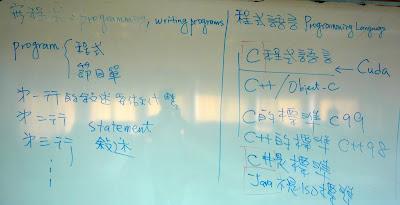 程式設計和程式語言