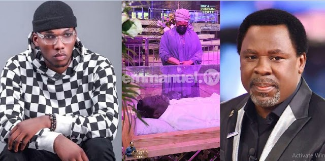 How TB Joshua healed me of skin disease, gave me N1 Million – Singer, Victor AD reveals