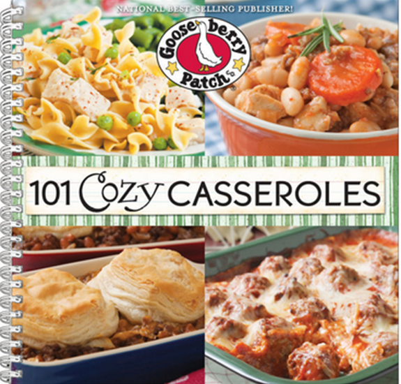 Yummy casserole recipes from Gooseberry Patch - perfect for fall!