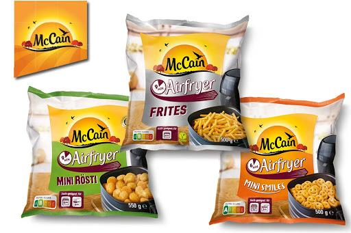 Bild für Cashback-Angebot: McCain Airfryer Pommes und mehr - Mccain