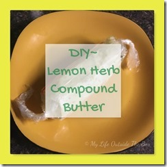 DIY Lemon Herb Butter