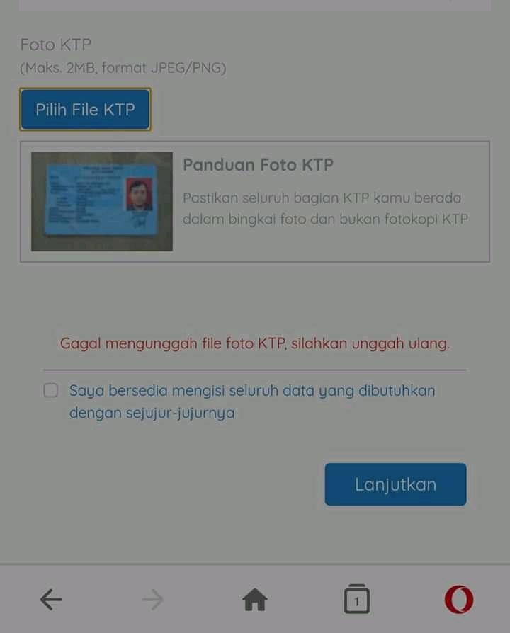 Cara Mengatasi Upload KTP Kartu Prakerja Gagal Terus di Gelombang 9