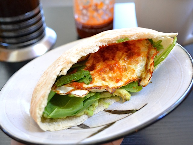 Avocado Breakfast Pita Budget Bytes