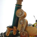 giant telescope samba parade in Asakusa, Tokyo, Japan
