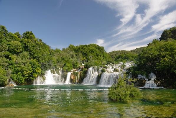 Skradinski Wasserfälle im Krka Nationalpark