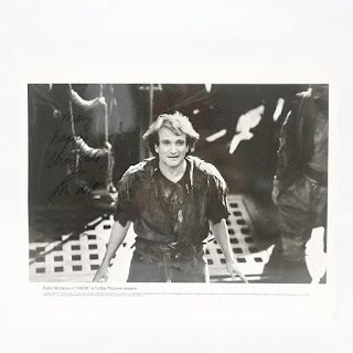 Signed Robin Williams Photograph
