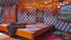 slaapgelegenheid Yurt