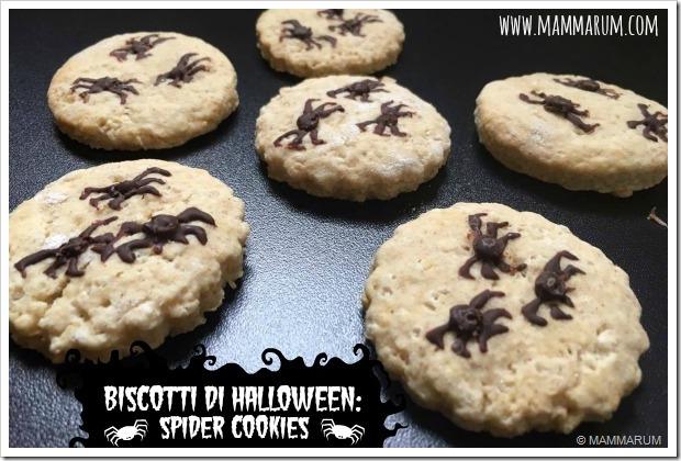 biscotti di halloween ragno