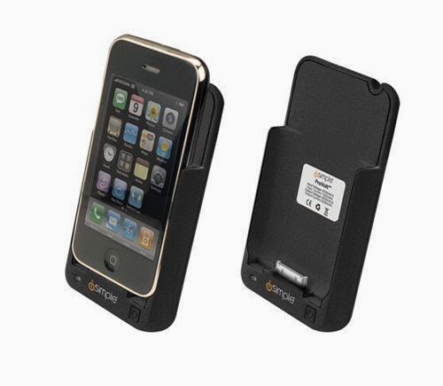 Ergonomic Protective Case And Reserve Battery For The Iphone 3g And Iphone-by-iSimple