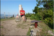 Pagogan mendiaren gailurra 1.029 m. --  2015eko uztailaren 4an