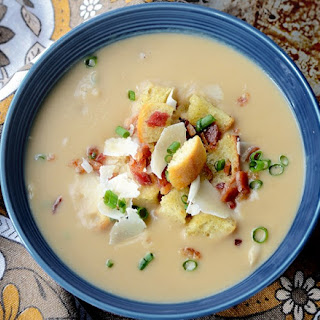 Gluten Free White Bean and Root Soup