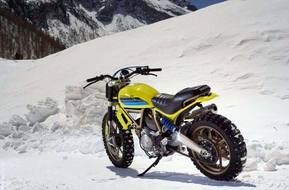 ★Dario Lopez Studio Ducati Scrambler Artika