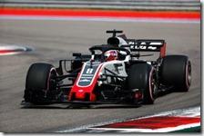 Romain Grosjean con la Haas